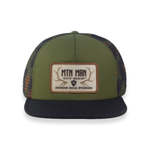 Camo / Olive Hydro Hat MMTS Patch
