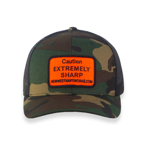 Trucker Hat NWKW Logo - Camo/Black EXTREMELY SHARP