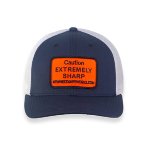 Navy Trucker Hat Extremely Sharp - JH