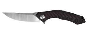 Zero Tolerance 0462 Large Sinkevich Red Carbon Fiber