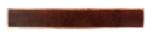 Brown Bison Hide Leather Magnet Bar