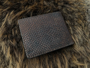 Wilburn Forge Beaver Tail & Moose Leather Wallet