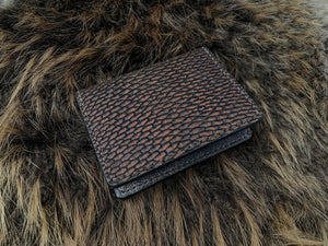 Wilburn Forge Beaver Tail and Moose Minimalist Wallet