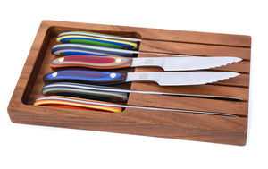 G-Fusion Six Piece Steak Knife Gift Set