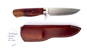 Gary Rodewald Custom Fixed Blade Koa Hunter