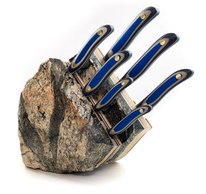 Mount Superior 7pc Chef Knife Rock Block