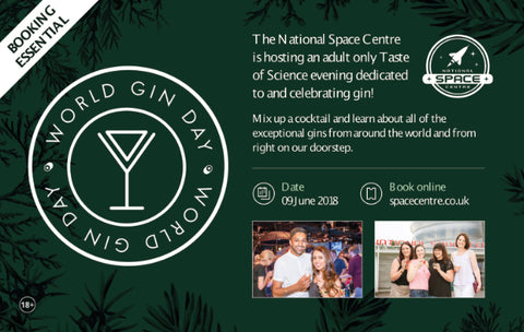 World Gin Day at The National Space Centre in Leicester