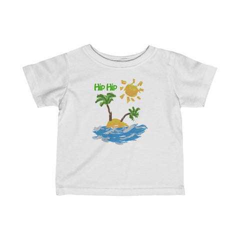 Hip Hip Paint Infant Fine Jersey Tee
