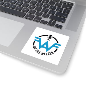We Are Weezer Podcast Fan Square Stickers