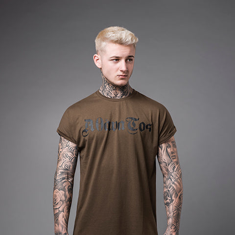 Street Noir: Long round bottom Ham Tee