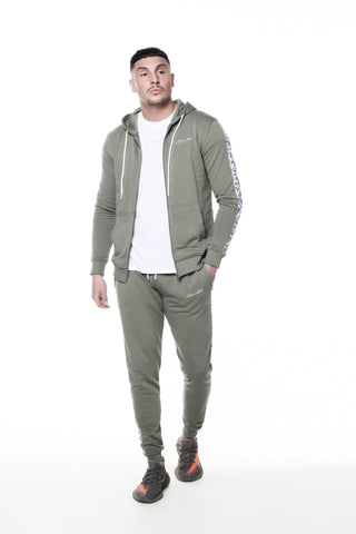 Liberated: Vine Tracksuit - Khaki
