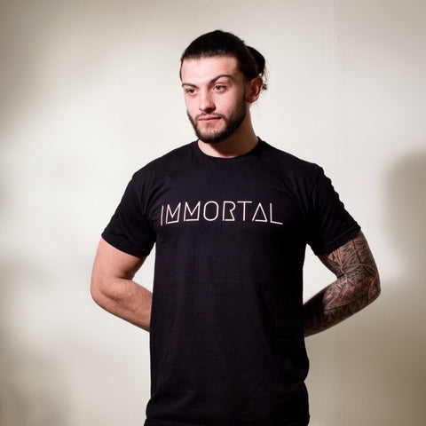IMMORTAL: Black T-shirt