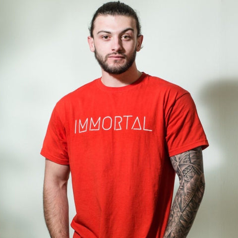 IMMORTAL: Red T-shirt