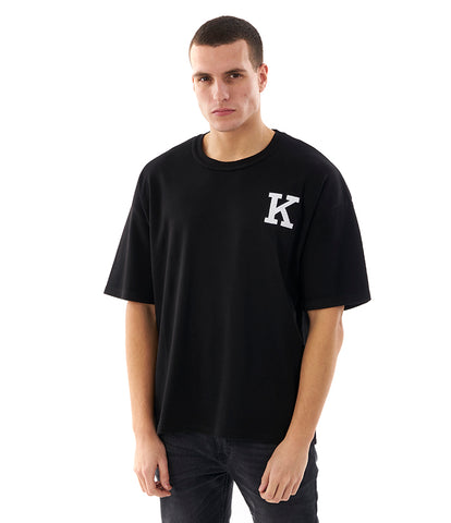 Khzari: Signature T-shirt - Black