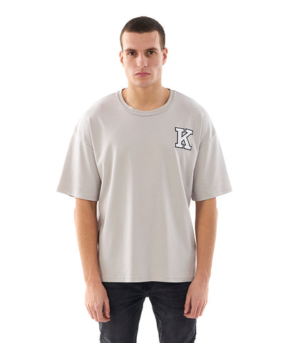 Khzari: Signature T-shirt - Grey