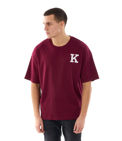 Khzari: Signature T-shirt - Wine