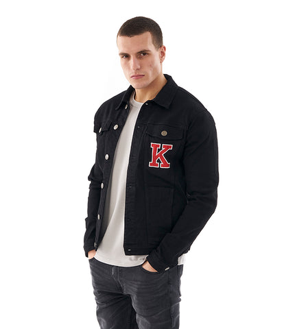 Khzari: Trucker Jacket - Black