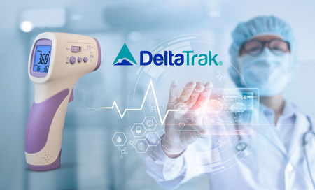 DeltaTrak Non Contact Thermometer with Calibration Feature