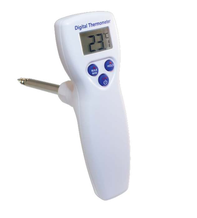 DeltaTrak FlashCheck Ruggedized Screw Tip Digital Thermometer