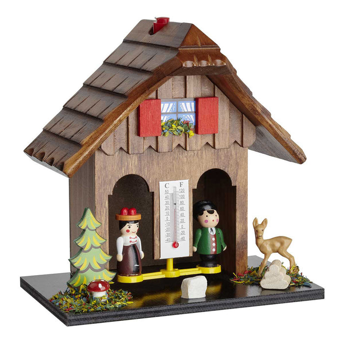 TFA Wooden German Weather House