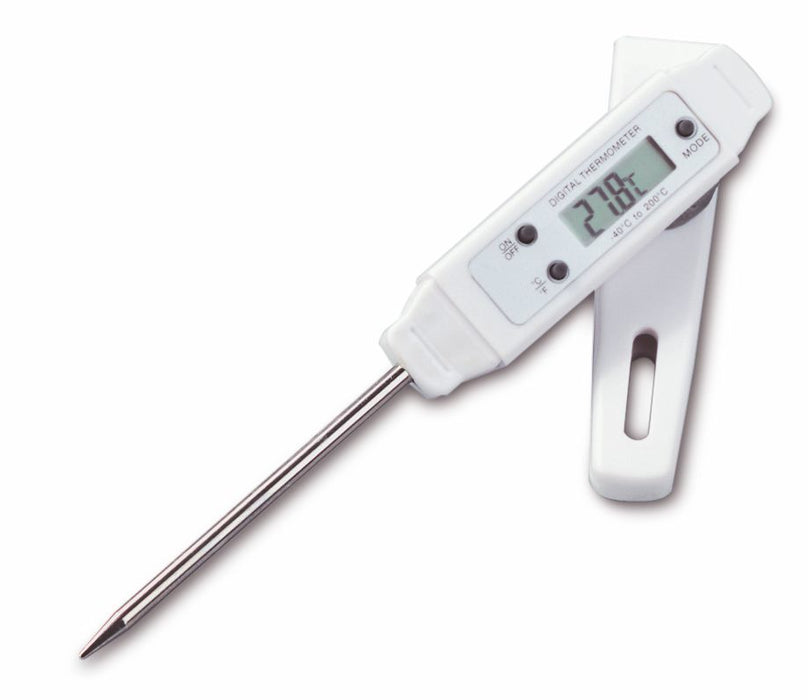 TFA Pocket-Digitemp S Digital Probe Thermometer - 75mm