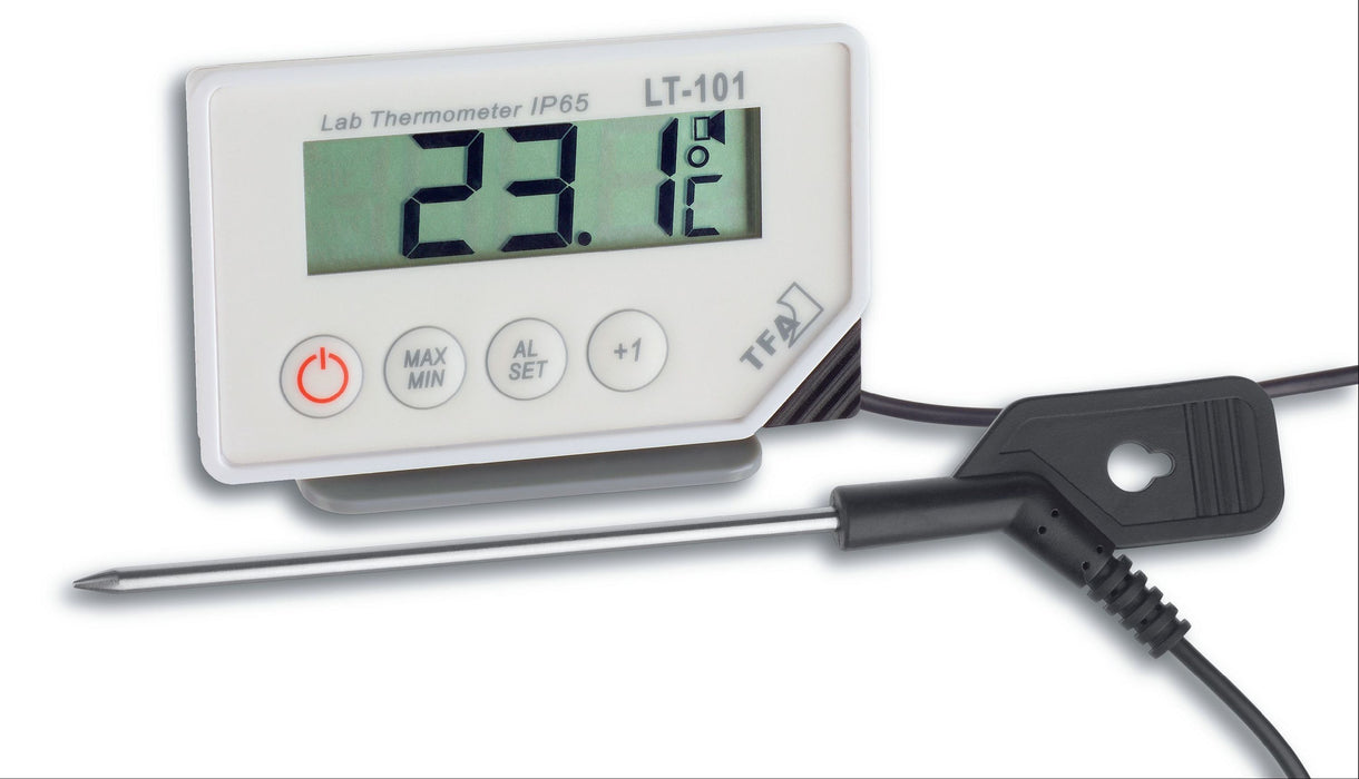 TFA LT-101 Digital Probe Min/Max Thermometer with Alarm