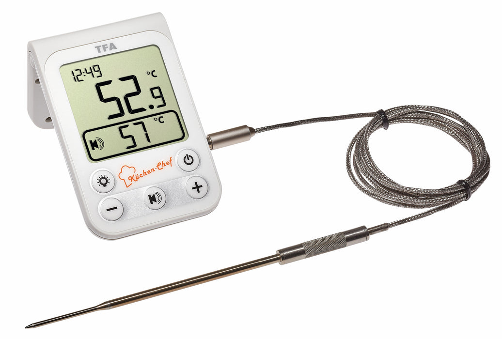 TFA Küchen-Chef Digital BBQ Meat Thermometer