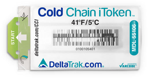 DeltaTrak Cold Chain iToken™ 55105 5.0C