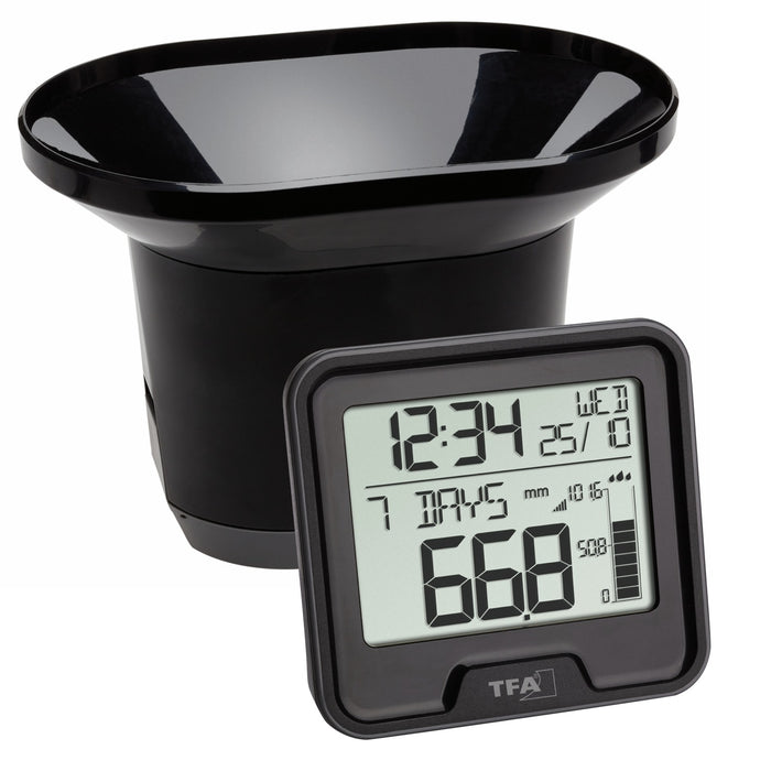 TFA Drop Wireless Rain Gauge