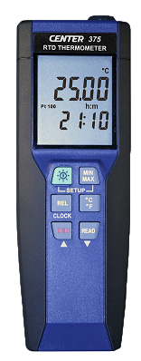 Center 375 RTD  Precision Thermometer