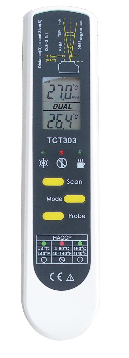TFA Dual-Temp Pro Infrared-Probe Thermometer