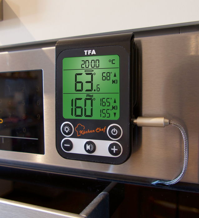 TFA Küchen-Chef Digital BBQ Meat/Oven Thermometer