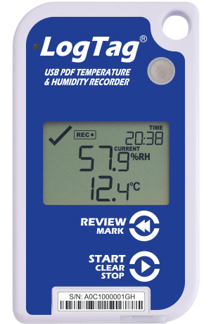 LogTag UHADO-16 Temperature and Humidity Logger