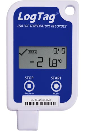LogTag UTRID-16 Multi-Use Temperature Logger