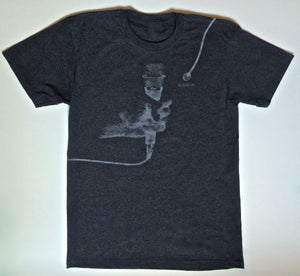 Speak-Up T - Charcoal Grey