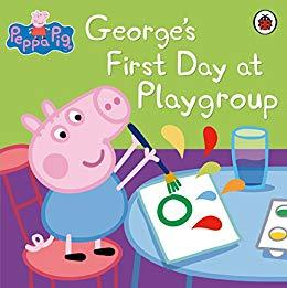 George's First Day at Playgroup  kapak resmi Ladybird Books KartonKinder