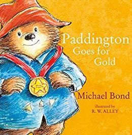 Paddington Goes for Gold  kapak resmi harpercollins KartonKinder