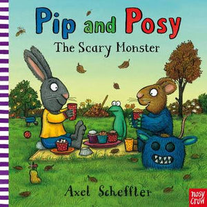 Pip and Posy The Scary Monster  kapak resmi Nosy Crow KartonKinder