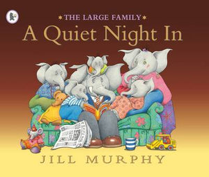 The Large Family - A Quiet Night In  kapak resmi KartonKinder KartonKinder