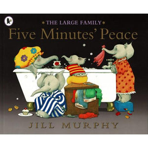 The Large Family - Five Minutes Peace  kapak resmi KartonKinder KartonKinder