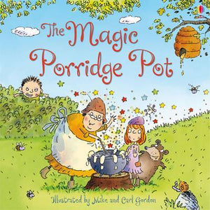 The Magic Porridge Pot  kapak resmi usborne KartonKinder