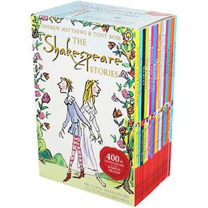 The Shakespeare Stories - 16 Books  kapak resmi KartonKinder KartonKinder
