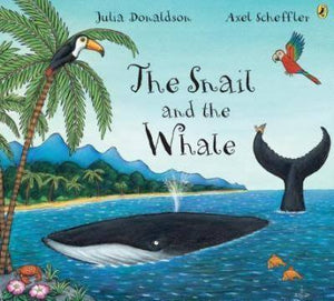 The Snail and the Whale  kapak resmi MacMillan Children's Books KartonKinder