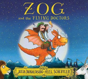 ZOG and the FLYING DOCTORS  kapak resmi KartonKinder KartonKinder