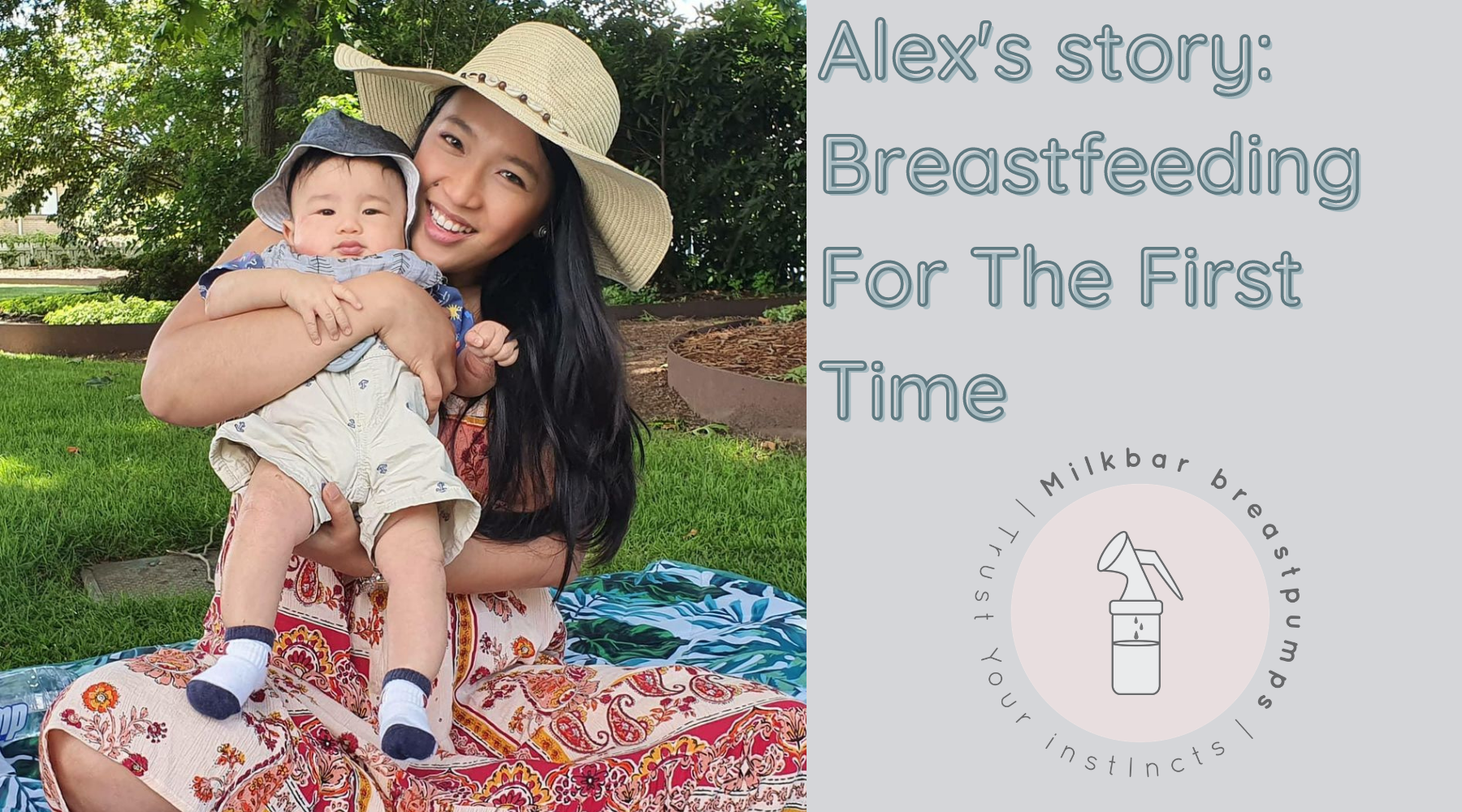 Alex's story: Breastfeeding For The First Time