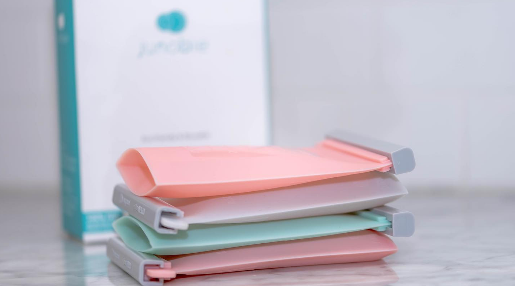 Meet Junobie, The World's First Eco-Friendly and Reusable Breastmilk Storage Bag