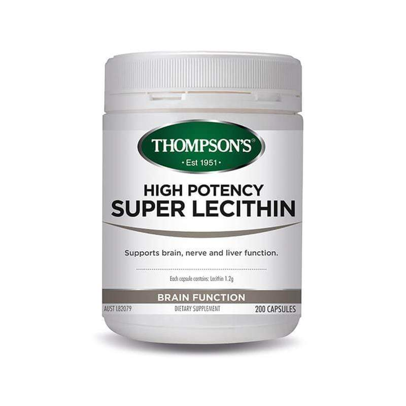 Thompson's Thompson's High Potency Super Lecithin - 200 Capsules