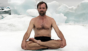 Embrace the cold with Wim Hof