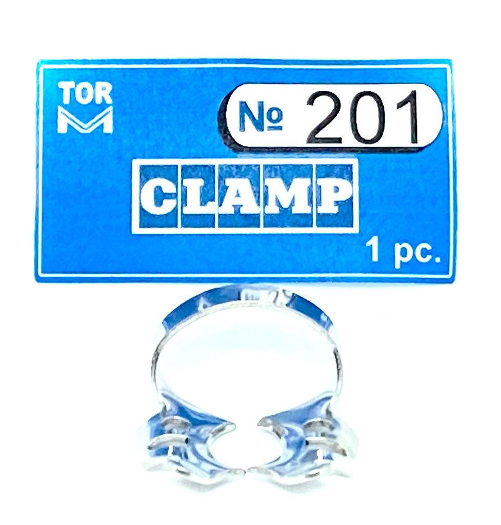Clamp 201 (for jaws for upper molars)