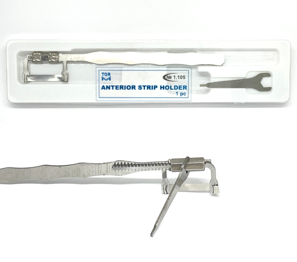 Anterior strip holder